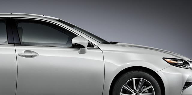 features improved aerodynamics -  - Đánh giá sedan hạng sang Lexus ES 250 2016 : Tinh hoa của sự sang trọng
