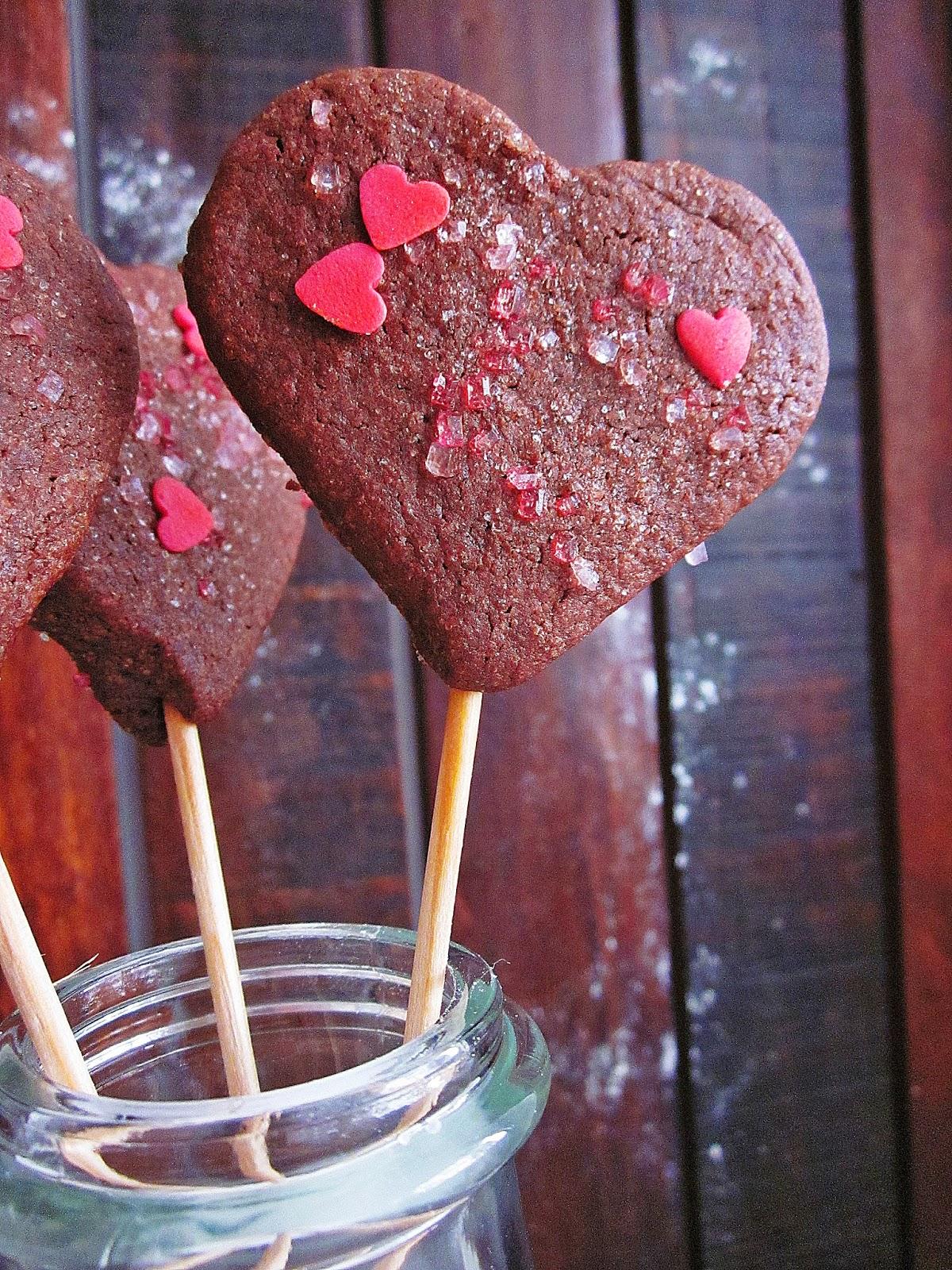 Schokoladige Sugar-Cookies gebacken