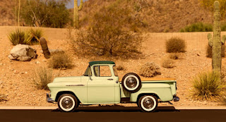 1956 Chevrolet Series 3100 Pickup Side Left