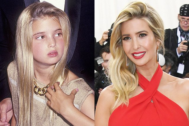 Ivanka Trump Evolution