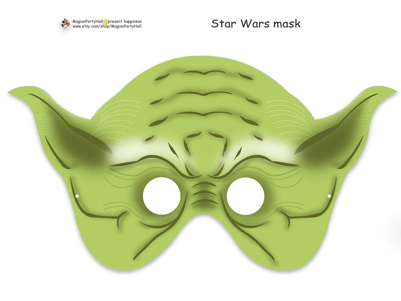 Page 2 Multicultural Star Wars Printable Masks