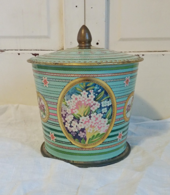 Vintage English Candy Tin