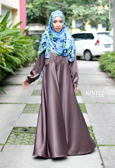 25 Model Baju Muslim Untuk Wanita Terbaru 2016