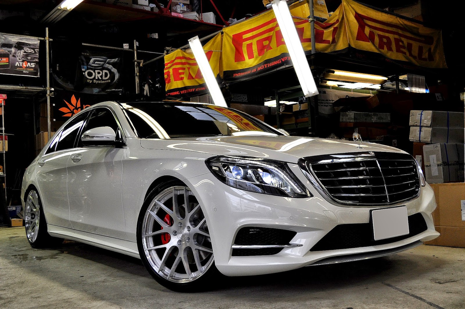 Mercedes Benz W222 S550 On Bc Forged Wheels Benztuning