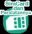 aksesoris simcard lengkap