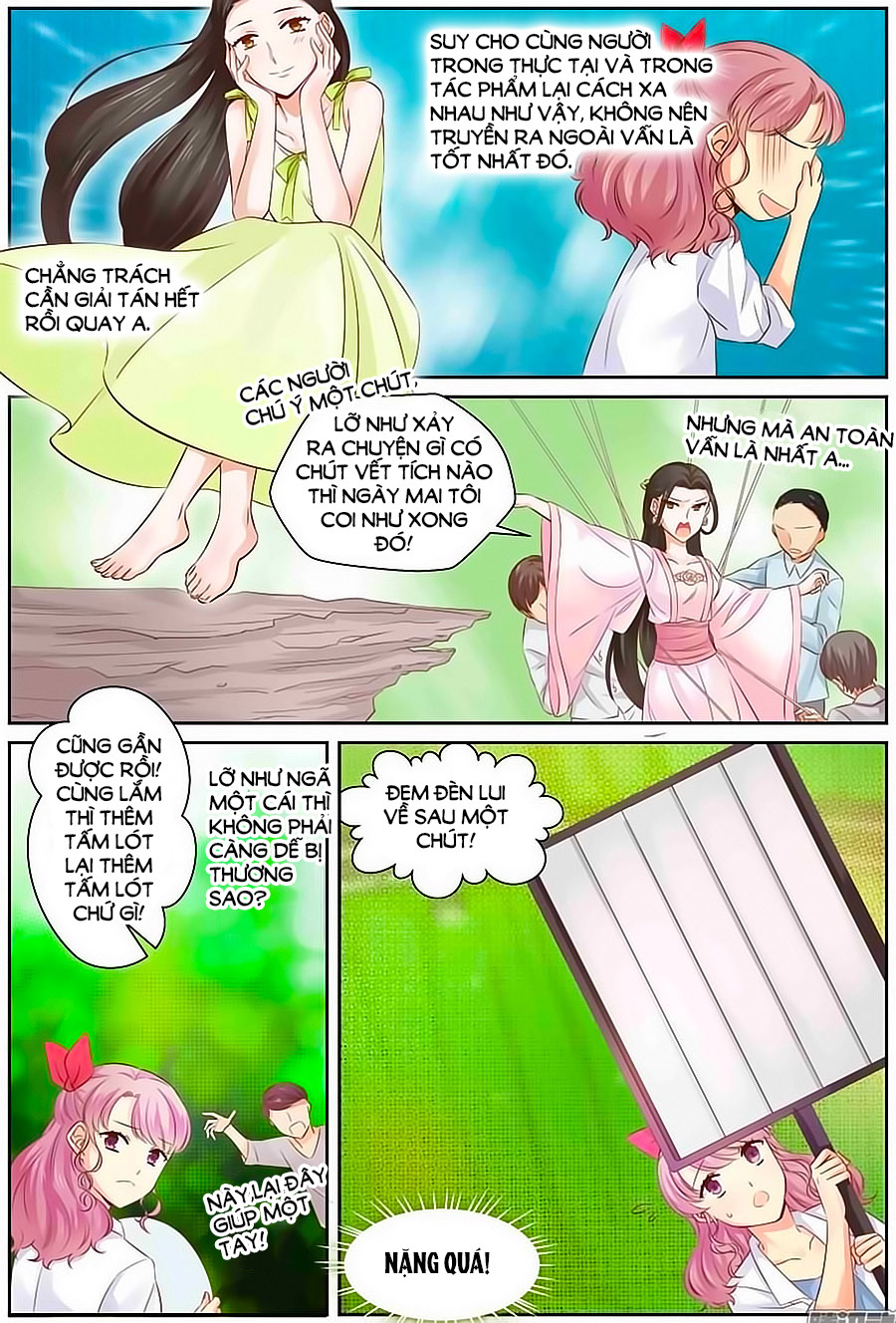 Lưu Luyến Tinh Diệu – Chap 49