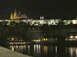 Prague Castle Night Czech Republic