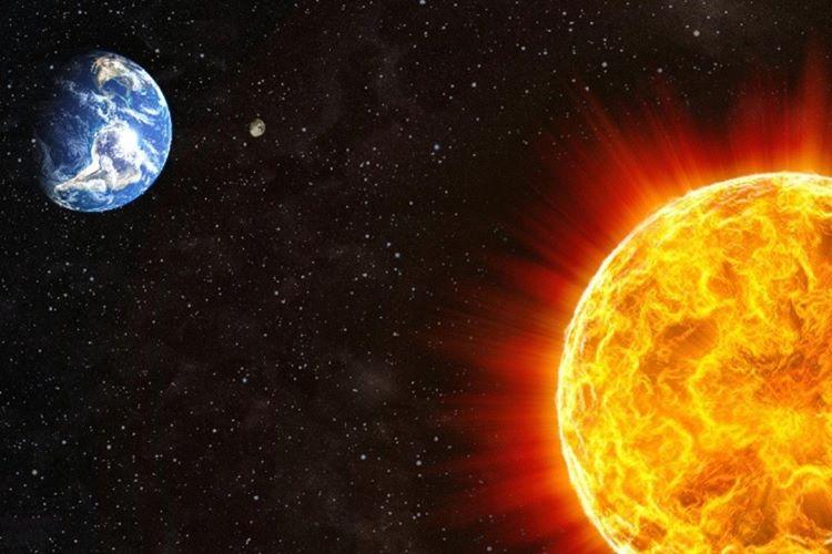 Güneş kaybolunca çekim etkisi yok olacağından dünya uzay boşluğuna savrulacaktır.