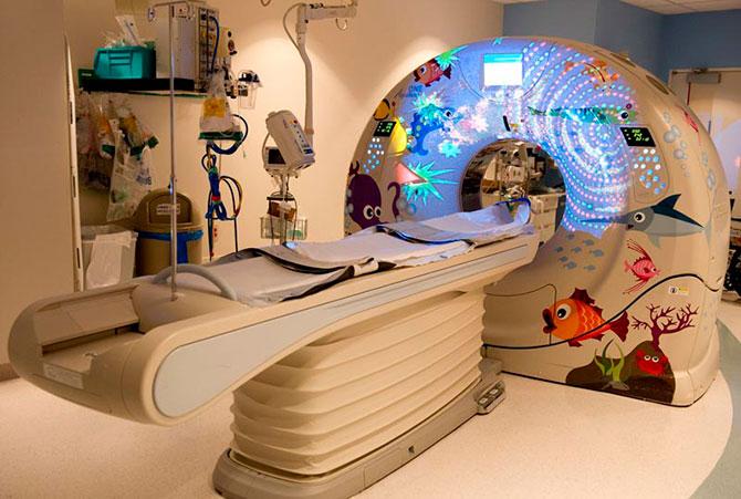 Sanford Hospital Sioux Falls >> Los interiores con decorados coloridos e infantiles de los hospitales para niños – Rincón Abstracto