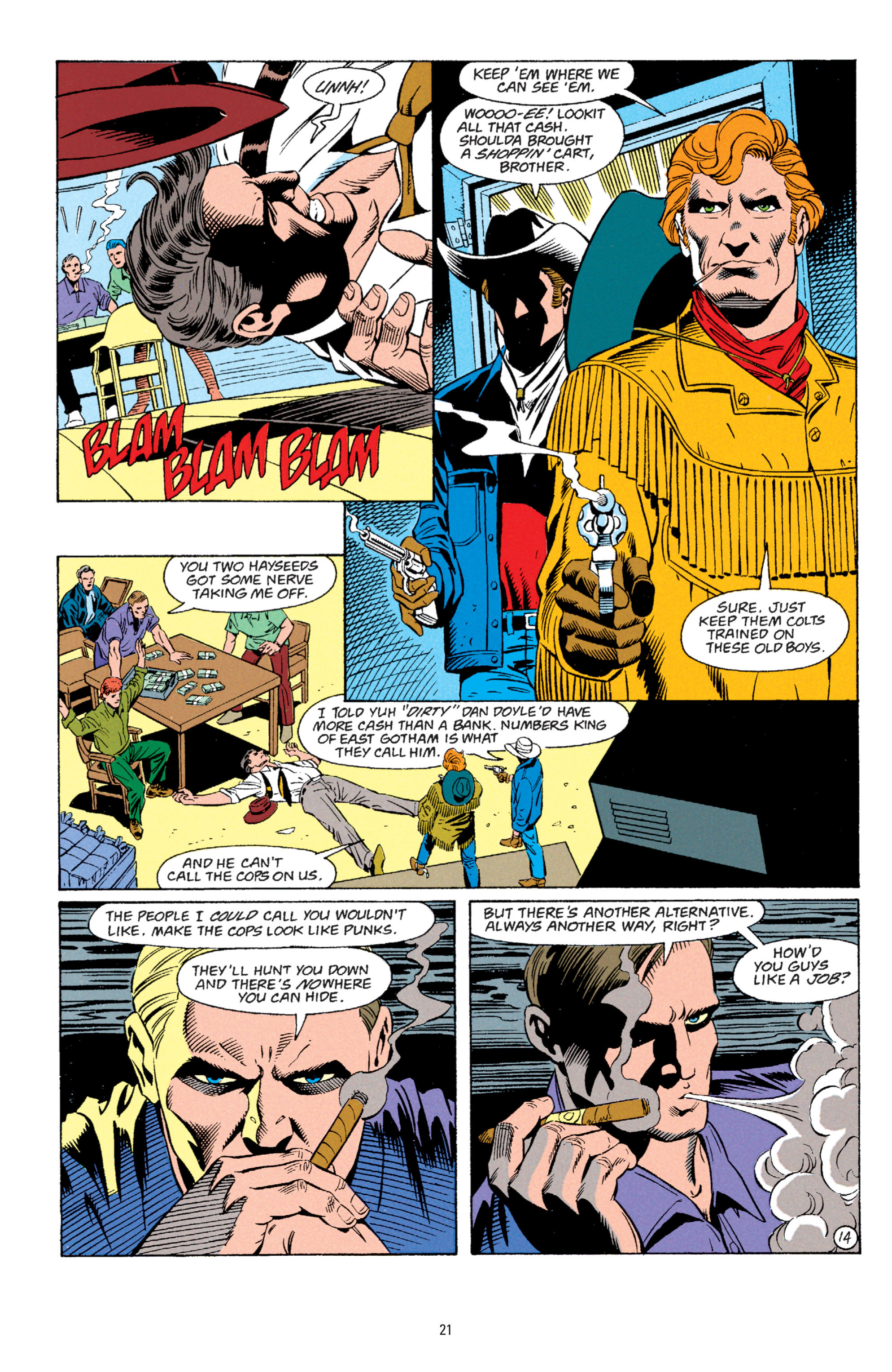 Detective Comics (1937) 667 Page 14