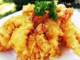 Resep Seafood, Seafood goreng, cara membuat masakan seafood enak, seafood tempura