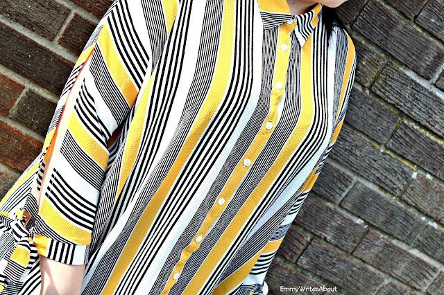 Yellow striped shirt