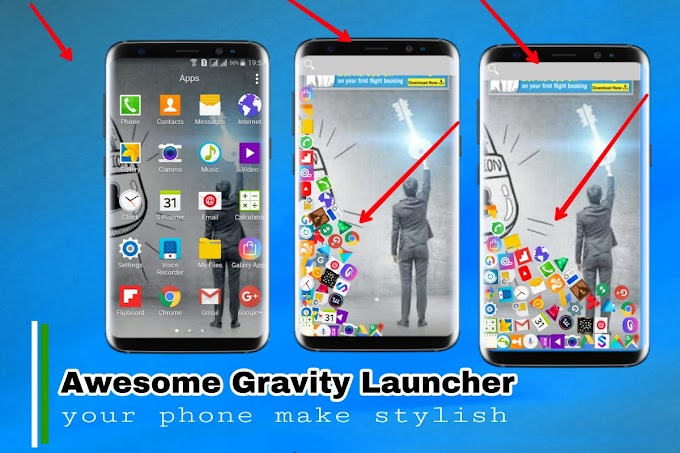 Gravity Launcher Vs Apne SmartPhone Ko Banaye Stylish
