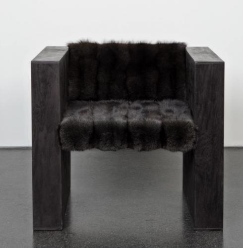 krzesło l rick owens l czerń