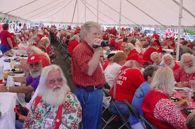 Santa Claus Convention in Branson Missouri