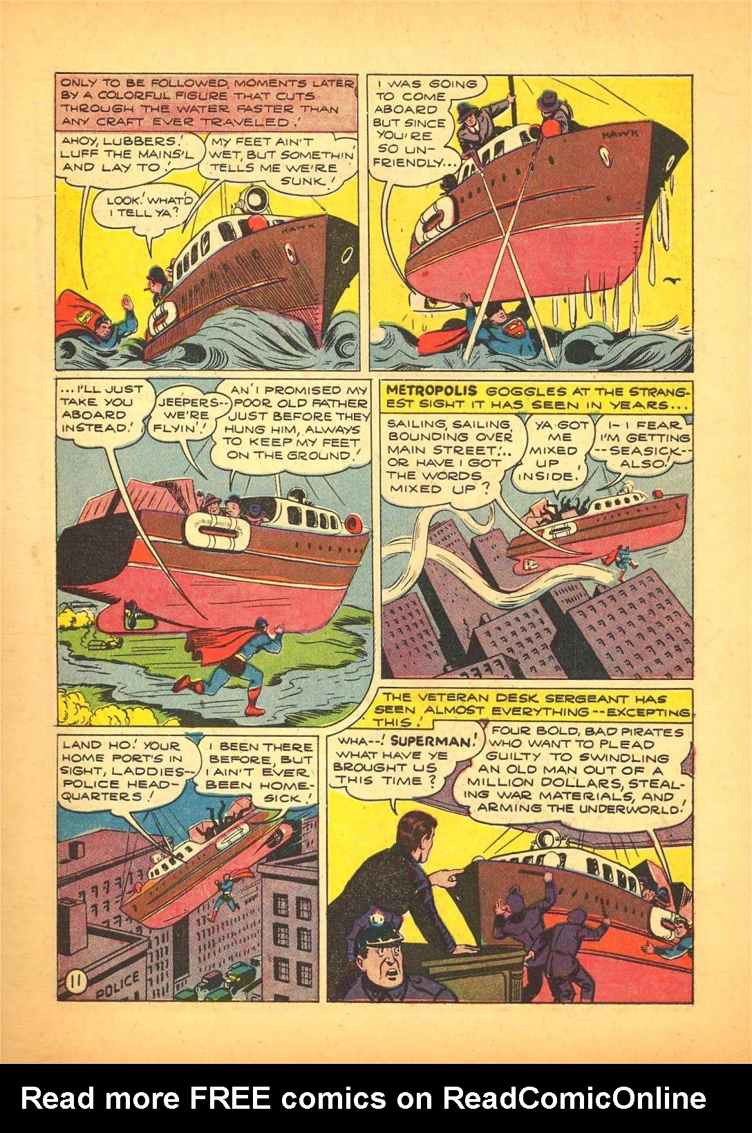 Read online Action Comics (1938) comic -  Issue #66 - 12