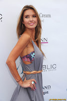 Audrina Patridge On her 26th birthday party at Wet Republic
