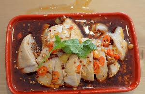 Chinese bang bang chicken