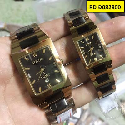 Đồng hồ đeo tay Rado Đ082800 sợi dây kết nối tình yêu của hai người
