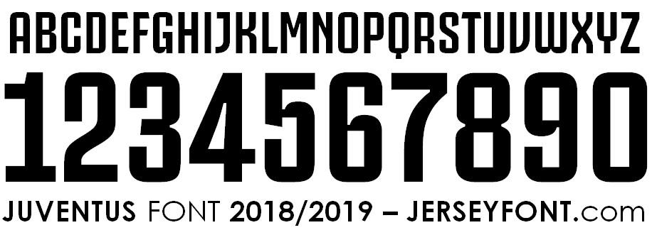 Juventus Font 2018/2019
