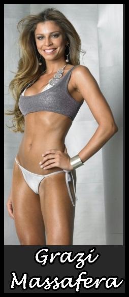 Grazy Massafera Is Your Bikini Curtain