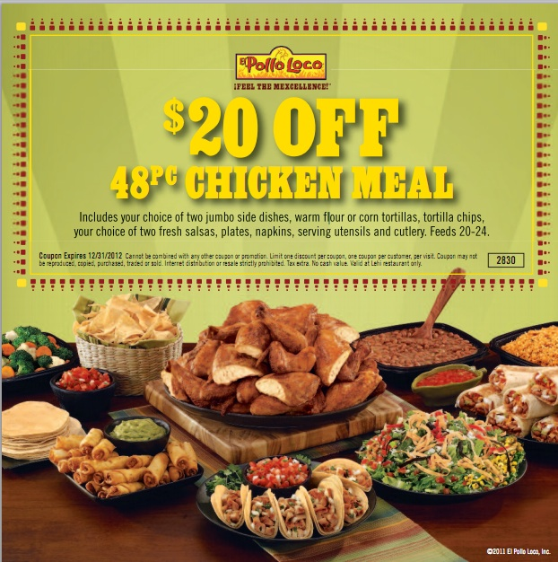 graphic about El Pollo Loco Printable Coupons titled Pollo loco coupon 2018 / Kings island tickets at kroger 2018