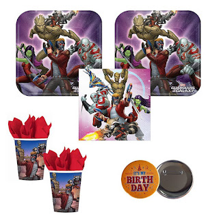Guardians of the Galaxy Vol 2 party pack for 16 guests