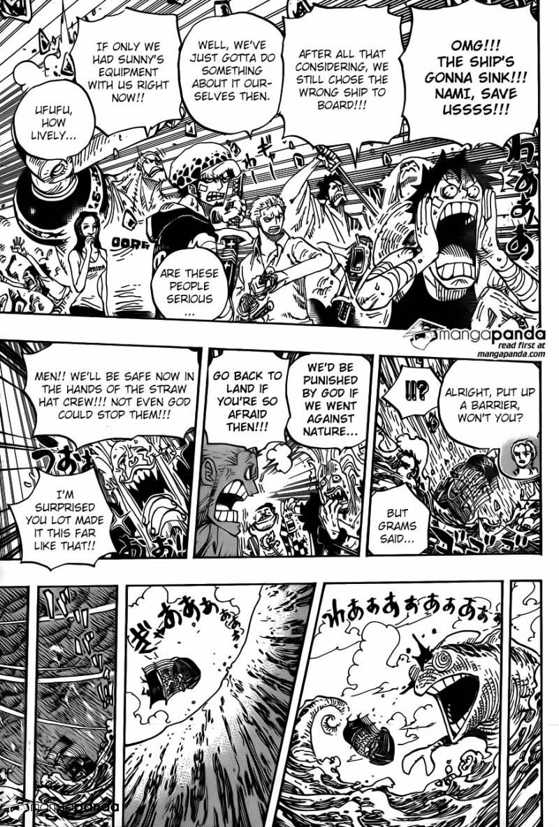 One Piece Ch 802: Zou