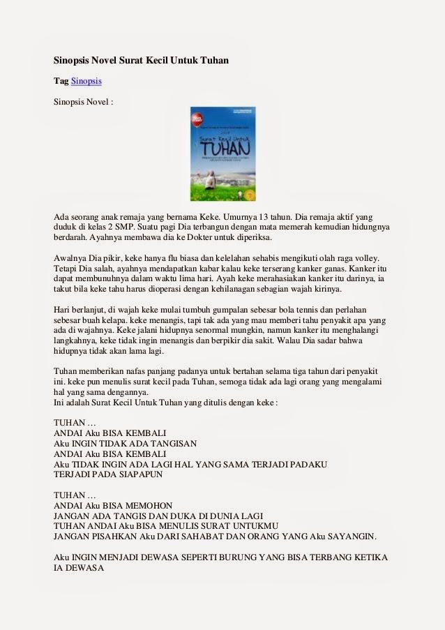 Contoh Resensi Buku Novel Www Picswe Com
