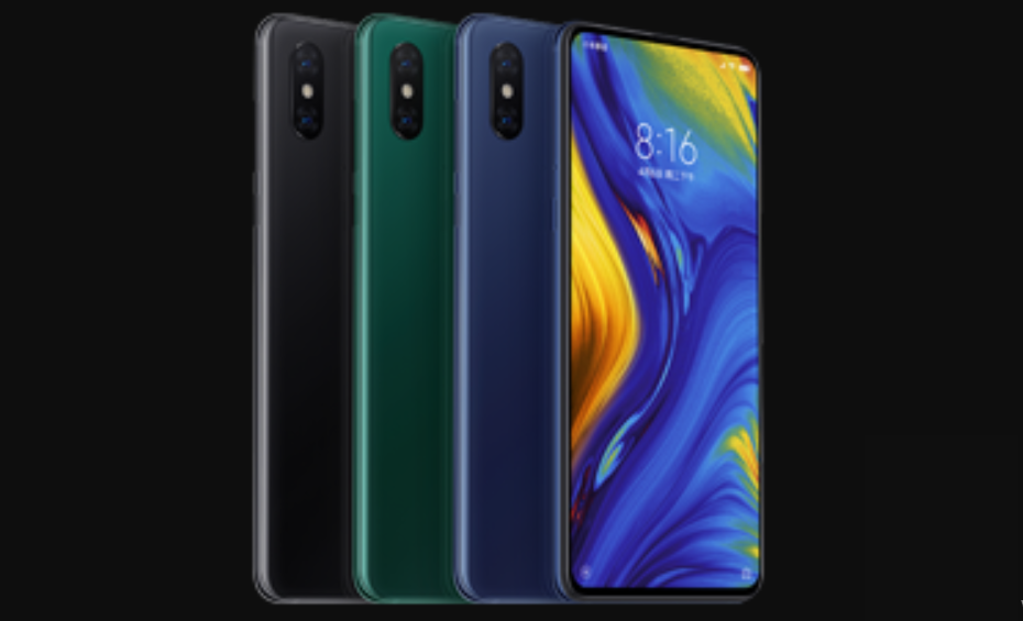 xiaomi mi mix 3 with slider debuts , 6.4 inch screen , 4 cameras and 5g network