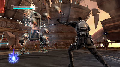 Gameplay from the second Force Unleashed title