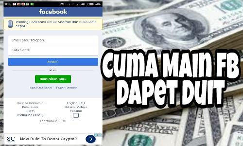 Cara Mendapatkan Uang Dari Facebook Dengan Aplikasi Buatan Sendri