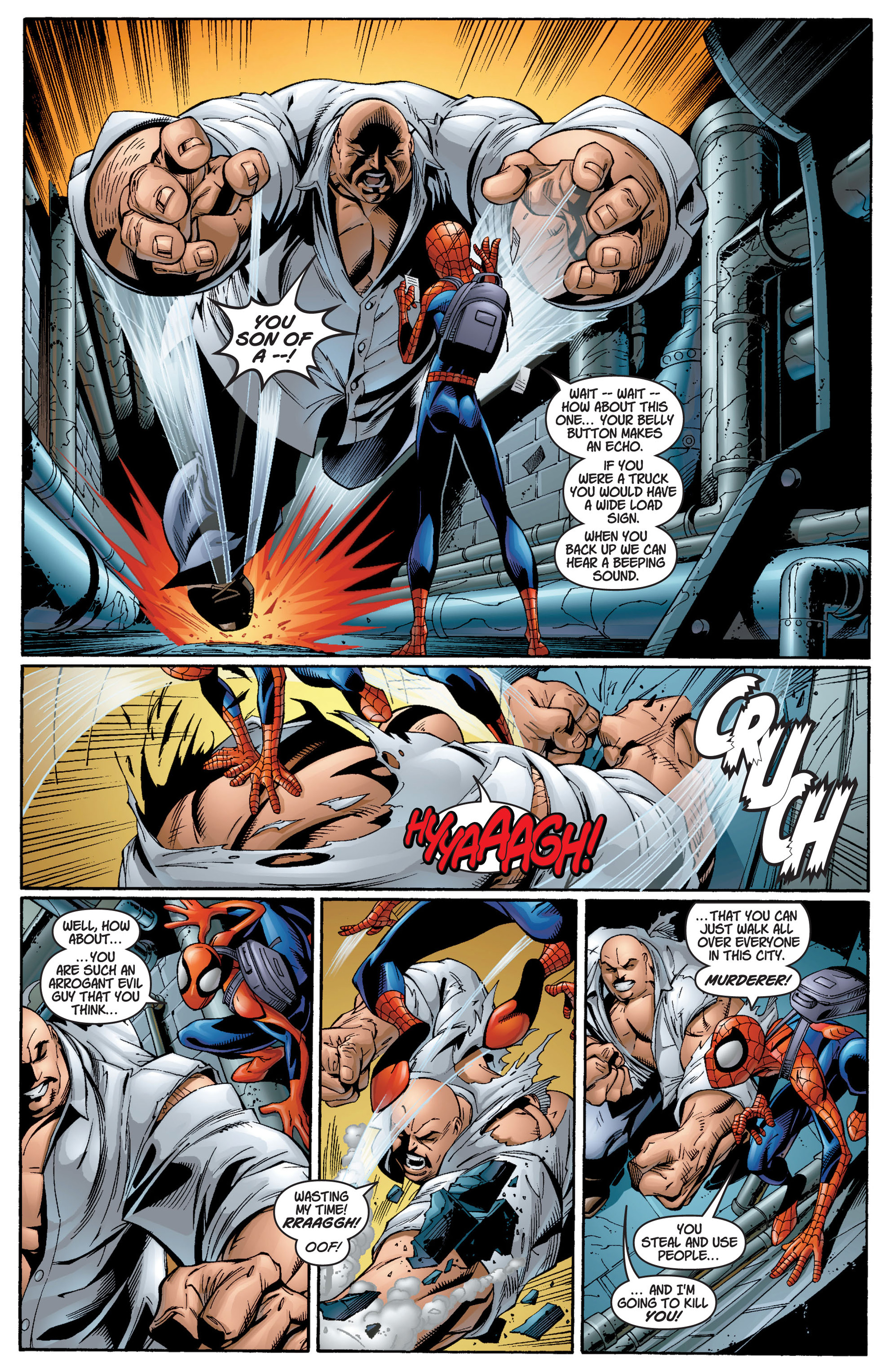 Read online Ultimate Spider-Man (2000) comic -  Issue #12 - 14