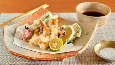 天ぷら盛り合わせの作り方