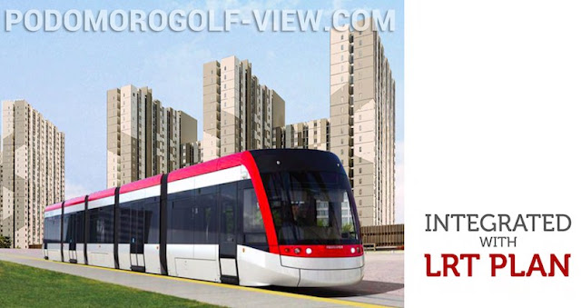 Integrated LRT @ Podomoro Golf View