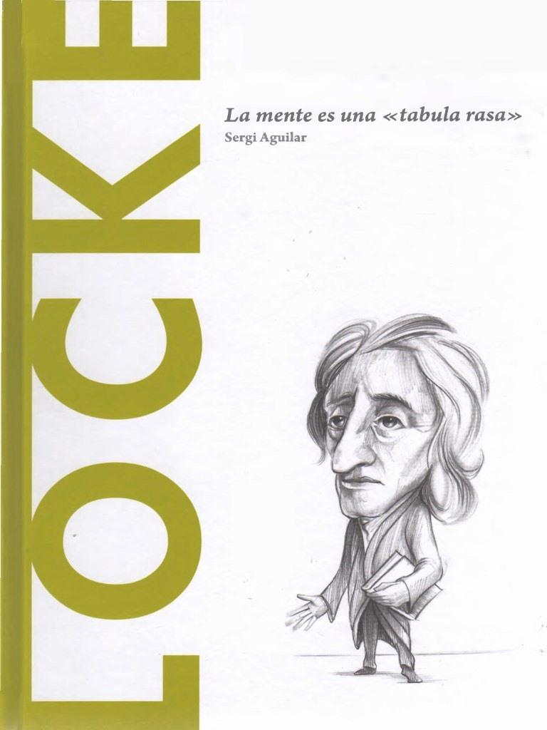 """Locke: La mente es """"una tabula rasa"""" – Sergio Aguilar"""