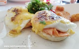 egg benedict menu sarapan sehat