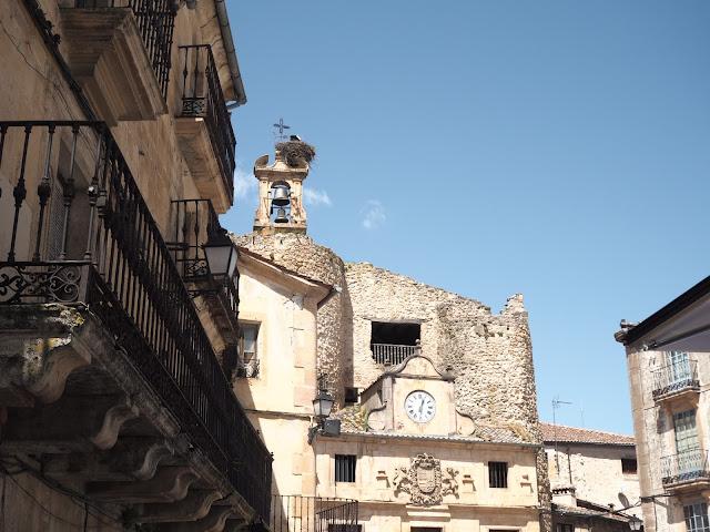 Fachadas de la Plaza Mayor de Sepúlveda