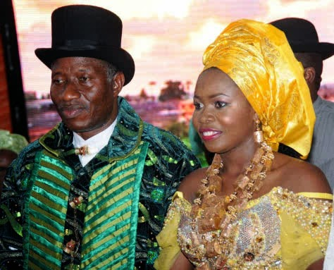 president jonathan daughter wedding pictures