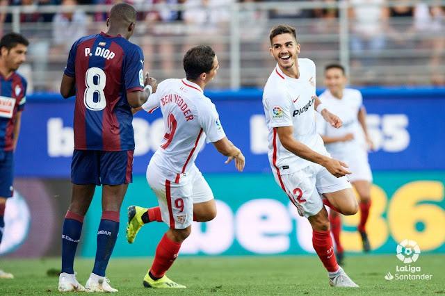 Crónica Eibar 1 - Sevilla FC 3
