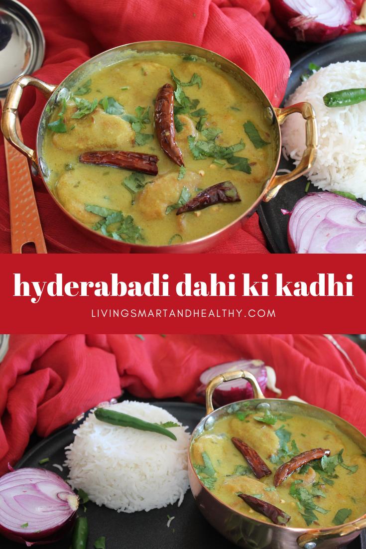 Hyderabadi Dahi Ki Kadhi / Yogurt Curry - Instant Pot, Stove Top