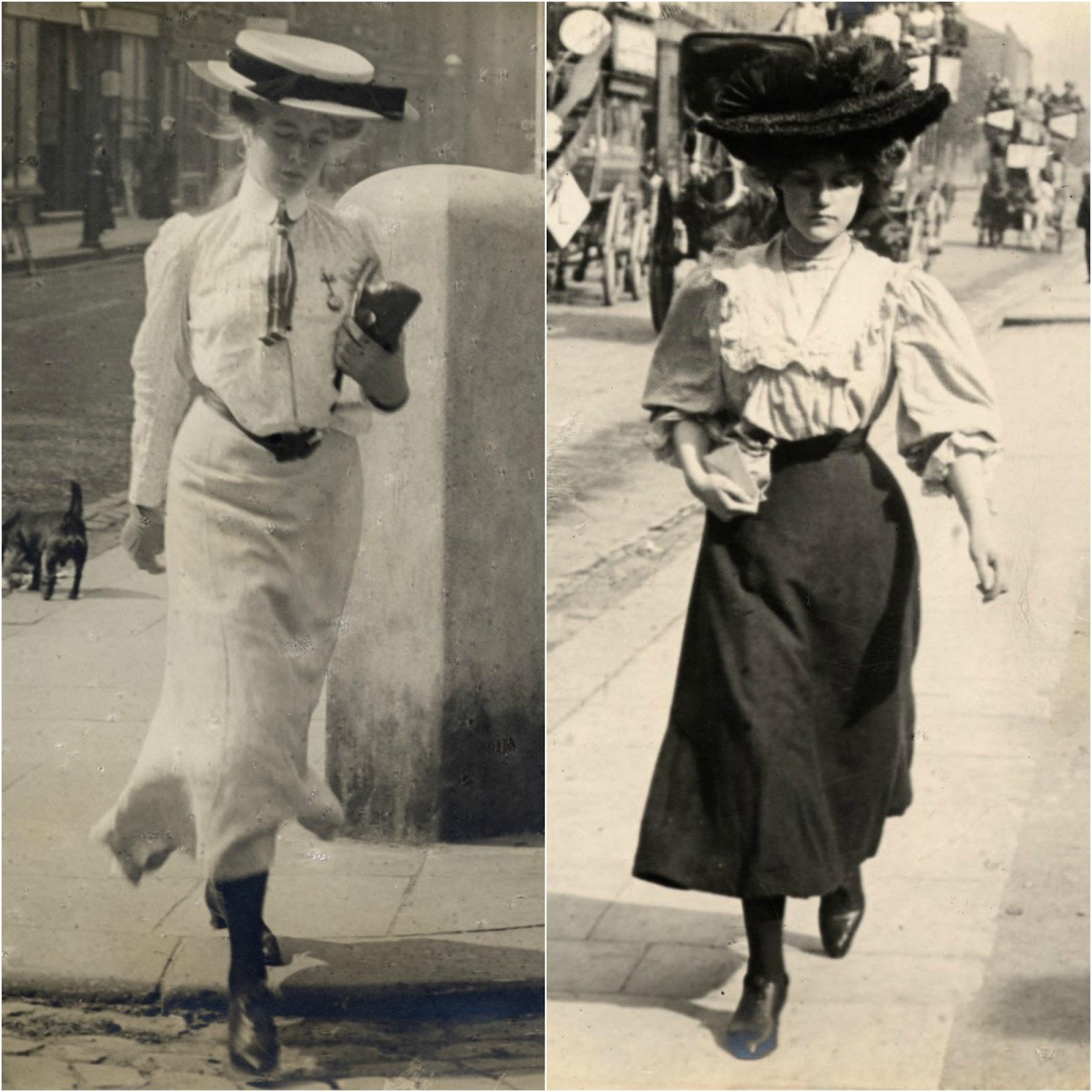 Photographie de rue, années 1900