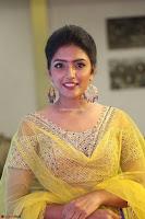 Actress Eesha in Yellow Choli Blue Ghagra at Darshakudu music launch 022.JPG