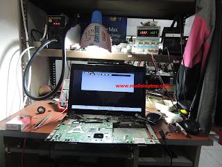 Serfis Laptop Lenovo B470 Konslet - Mati Total