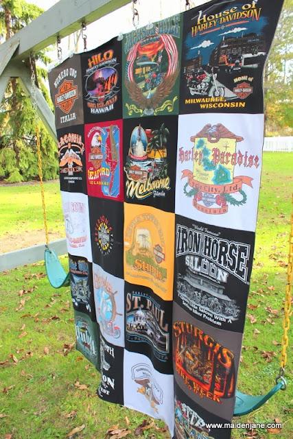 Harley T Shirt Blanket