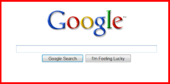 Google search login