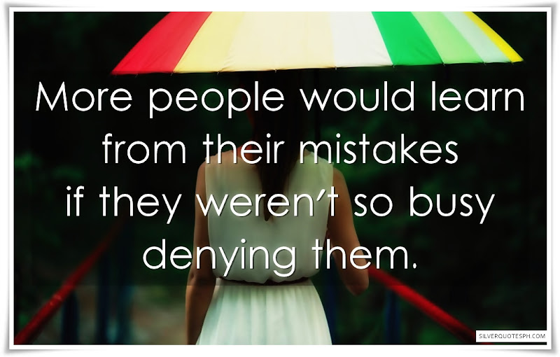 More People Would Learn From Their Mistakes