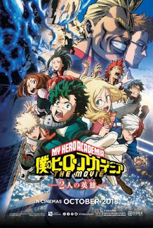 My Hero Academia The Movie: Two Heroes