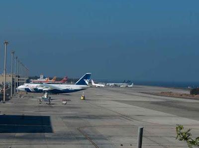 Muchos vuelos cancelados y desviados por temporal del 12 de febrero en Canarias