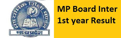 MP Board Inter 1st year Result 2017